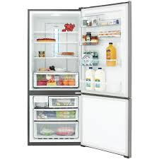 westinghouse wbe4514sa r 450l bottom mount refrigerator at the