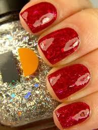 18 radiant ways to get your glitter mani on nail splash