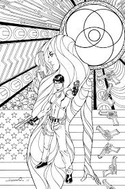 grayson 16 coloring book variant cover by aaron lopresti