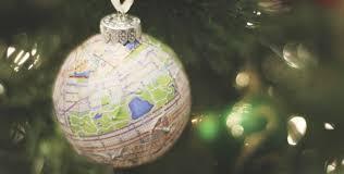 map ornaments
