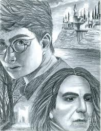 harry potter drawing crystal rosene