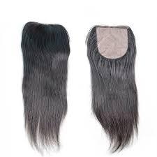 top closure mink hair silk top closure with 3pcs hair weaves