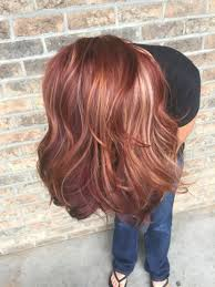all the fall hair colors red blonde red violet copper fall
