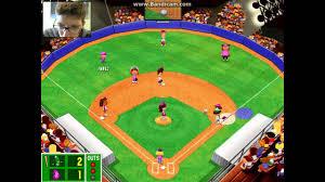 backyard baseball playoff highlights youtube