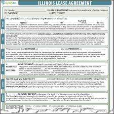 illinois rental lease