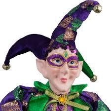 mardi gras doll 24 standing jester mardi gras doll mg15 110 mardigrasoutlet