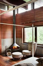 22 best floor protector ideas images on pinterest fireplaces modern corner fireplace bedroom sophisticated house near moscow by olga freiman