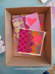 pink and green mama tween craft making homemade books with kids