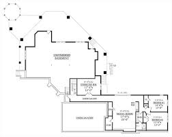 house plans with media room tree top treasure 6940 5 bedrooms and 3 baths the house designers
