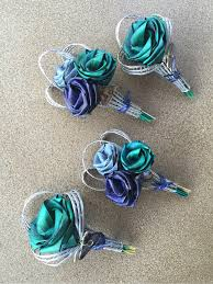 Turquoise Corsage The Paua Collection Flaxation