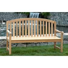Teak Garden Benches Oxford Garden Classic Shorea Wood Garden Bench Hayneedle