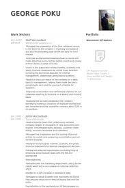 Sample Resume For Junior Accountant by Staff Accountant Resume Samples Visualcv Resume Samples Database
