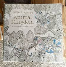 animal kingdom secret garden colouring book kids
