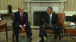 trump calls obama u0027a very good man u0027 after historic white house