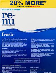 renu clean disinfects rinses and stores soft contact lenses 2