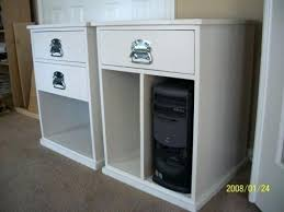 Elite Built Filing Cabinet Build Your Own File Cabinet Our Own Built His Desk Using Two