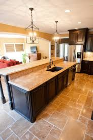 kitchen island with bar top home styles kitchen island with breakfast bar idolza