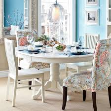 Ronan Pedestal Extension Table White Dining Rooms Pinterest