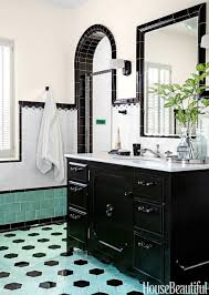 1930s Bathroom Design Bathroom With Colorful Tile 1930s Bathroom Design
