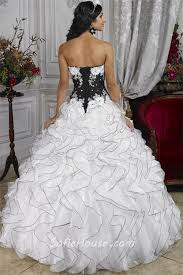 black and white quinceanera dresses pretty gown black and white organza quinceanera dress with