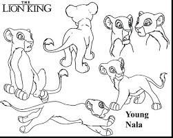 coloring pages simba coloring pages children simba nala
