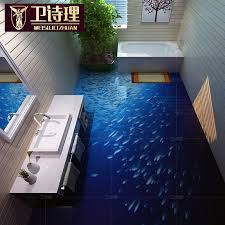 16 mysterious sea 3d ceramic tile best quality 8d polished 3d