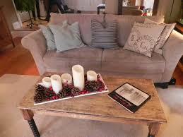 Coffee Table Christmas Decoration by La Petite Fleur