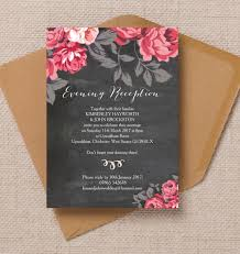 reception invitations top 10 printable evening wedding reception invitations