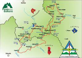 Balkans Map Mountain Maps The Alps Russia Albania Bulgaria Romania