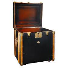 steamer trunk side table steamer trunk side table black black trunk side table