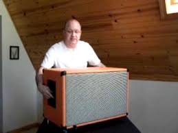 How To Build A Guitar Cabinet by Delbert Walling Talks About His Earcandy Buzzbomb 2x12 Guitar Cab