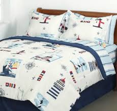 Nautical Twin Comforter Beach Bedding Sets In A Bag U2013 Ease Bedding With Style