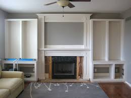 Built In Bookshelves Fireplace by Best 25 Built In Electric Fireplace Ideas On Pinterest