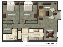 One Bedroom Apartment Plans by Apartment Plan Typ With Inspiration Hd Gallery 3182 Fujizaki