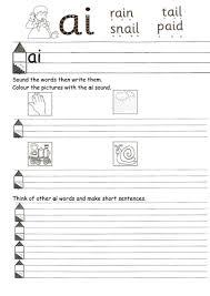 worksheets for ai ou ue etc by annalienvdb teaching