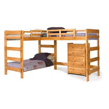 Easy And Strong 2x4 U0026 2x6 Bunk Bed 6 Steps With Pictures by Chelsea Home L Shaped Bunk Bed Kid U0027s Room Pinterest Bunk Bed