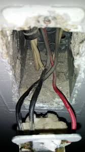 old house wiring red black electrical wiring in the home ceiling