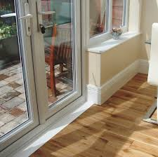 Skirting For Laminate Flooring Skirting Board Heating Was Added Across Patio Doors Shows How