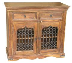 jali 3 door sheesham sideboard sheesham furniture furniture sheesham jali 2 door drawer sideboard