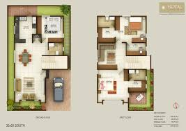 South Facing Duplex House Floor Plans by Prissy Design Floor Plans For 30x50 South Facing 2 House Plan