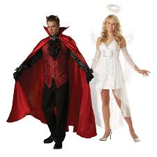 Halloween Angel Costume Devil Costume Lucifer Lord Lucifer Costume Angel