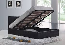 Double Faux Leather Bed Frame by Ottoman Beds With Free Delivery Anywhere In Ireland
