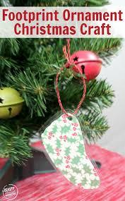 diy handprint keepsake ornament through