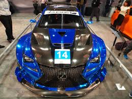 lexus rcf widebody lexus to back new f performance racing team