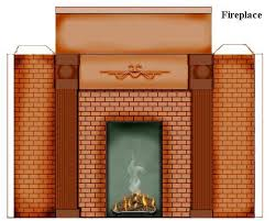 19 best dollhouse fireplace images on pinterest paper houses