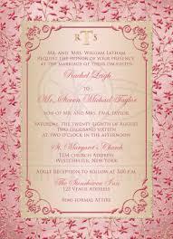 monogrammed wedding invitation blush pink dusty rose champagne