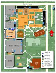 Central Michigan University Map Neiu Campus Map Stephen F Austin University Campus Map Northern