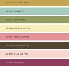 2017 color pallets sherwin williams 2017 color forecasts christa pirl