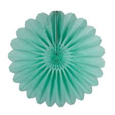paper fans 18 frosted mint paper fan the paper lantern