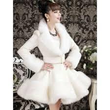 manteau mariage femme pour soirée mariée manteau de couleur blanc col en